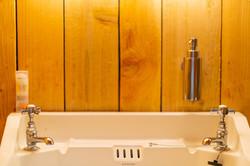 Russet Yurt Bathroom Basin