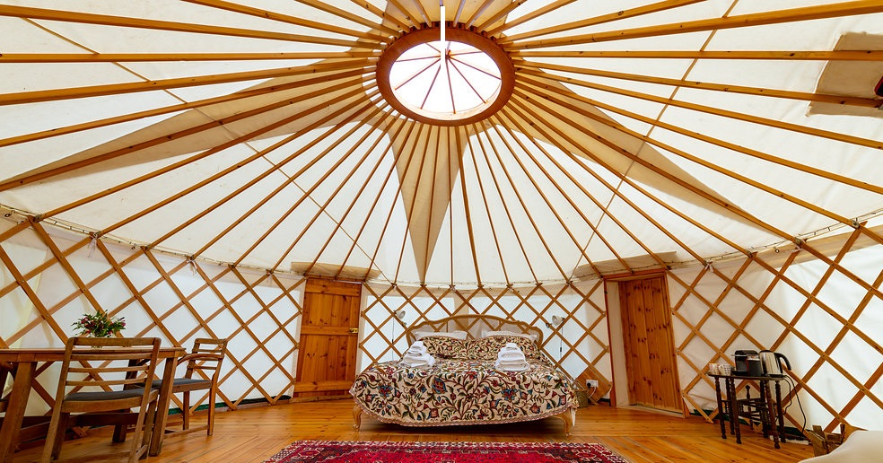 Pippin Yurt Interior 1