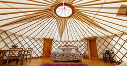 Pippin Yurt Interior 1