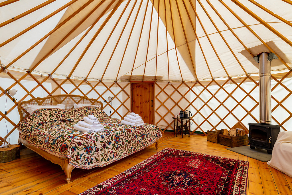 Pippin Yurt Interior