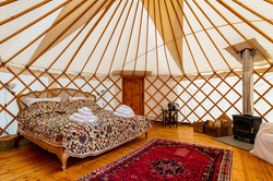 Pippin Yurt Interior