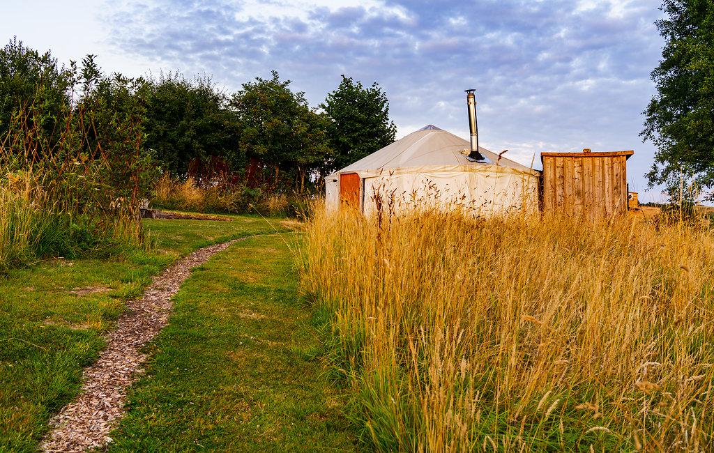 Pippin Yurt Exterior