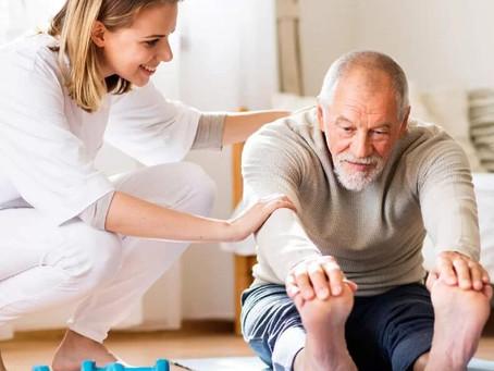 Fisioterapia Domiciliar: saiba a importância desse atendimento para os idosos.