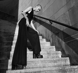 Mode Sophia Reichl Architektur monochrome