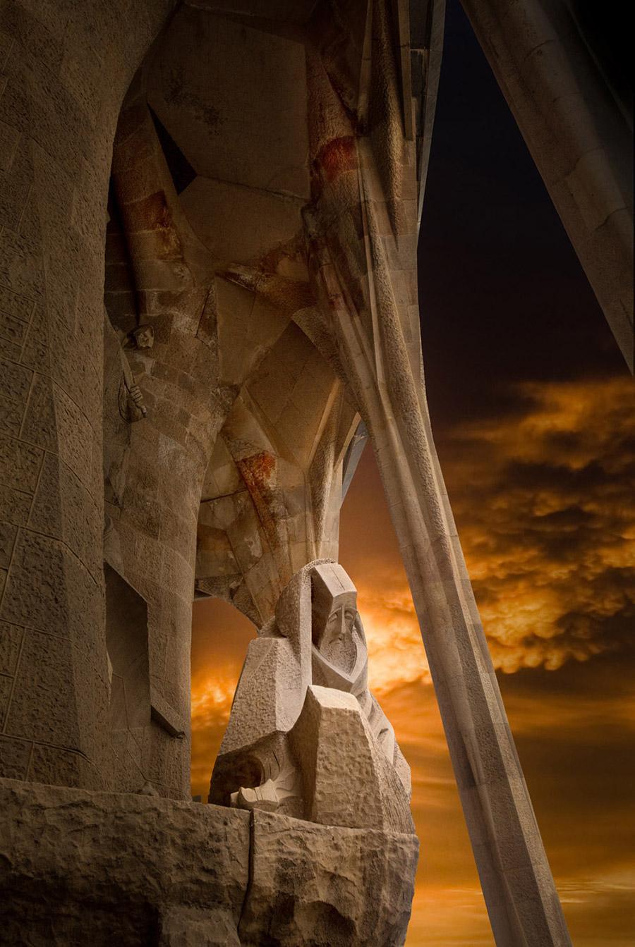 Familia Sagrada - Architektur Fotograf Bergauer