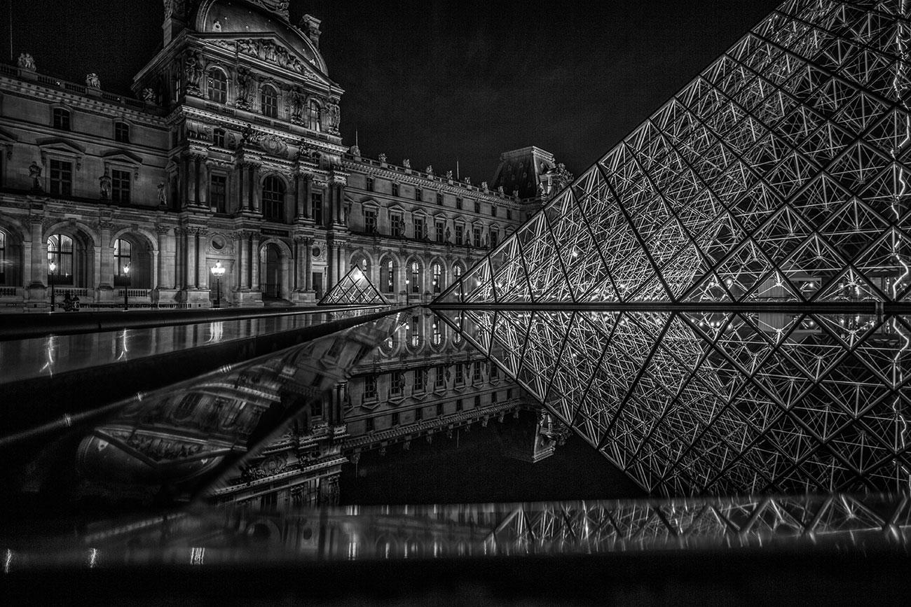 Architektur Fotograf - Louvre Paris