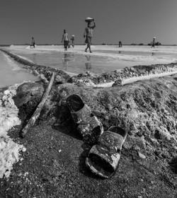 Indien Salt-Worker