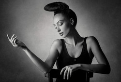 Portrait im Fotostudio