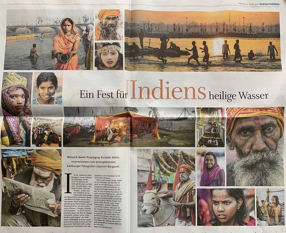 Kumbh Mela - Impressionen vom Fotografen Joachim Bergauer