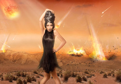 Werbefotografie Kometenhagel
