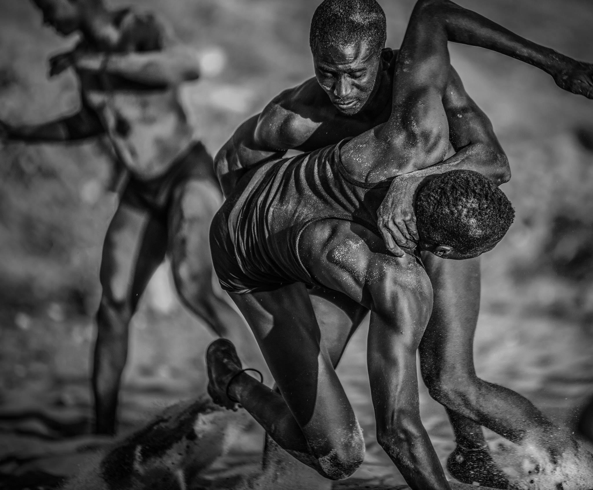 Senegal Gambisches Wrestling