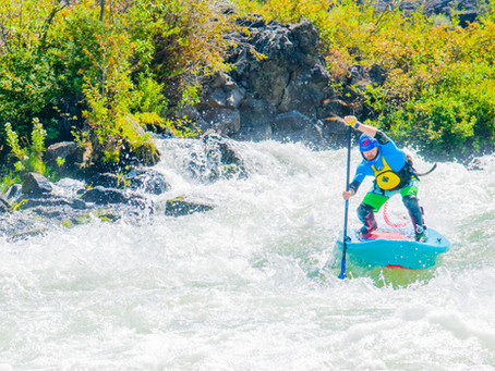 Hala Luya: Whitewater Paddle Board Review