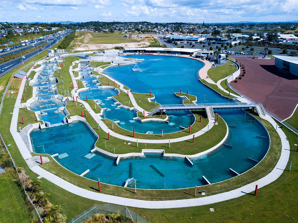 Wero Whitewater Park Auckland by Paul Clark SUPPAUL
