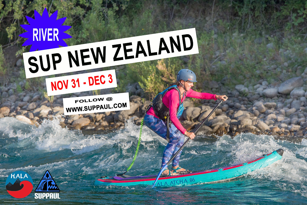 River SUP New Zealand with SUPPAUL