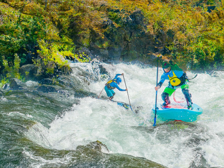 Bend Oregon Whitewater SUP