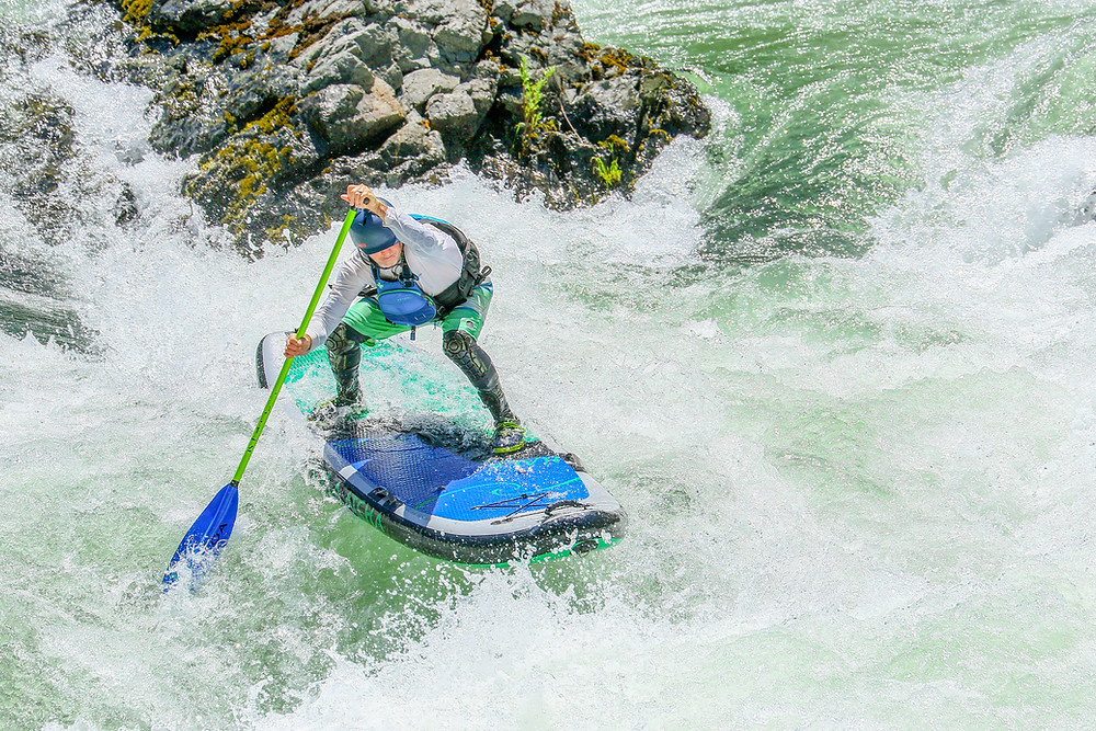 Whitewater SUP, river paddle boarding with Paul Clark SUPPPAUL