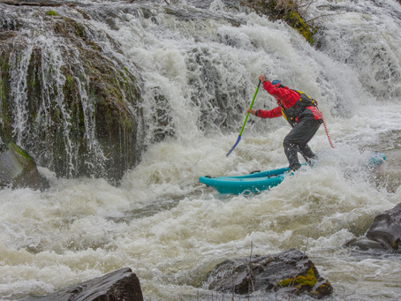 Twin Bridges to Cline Falls Whitewater SUP