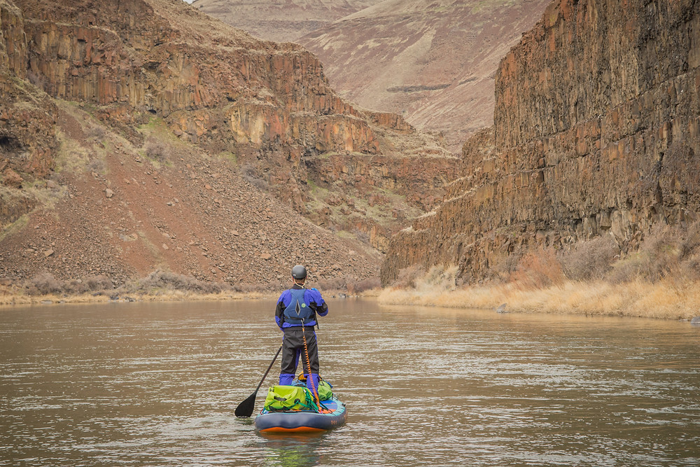 In the canyon between Clarno and Cotonwood on the John Day River, Oregon. Photo by :Paul Clark SUPPAUL