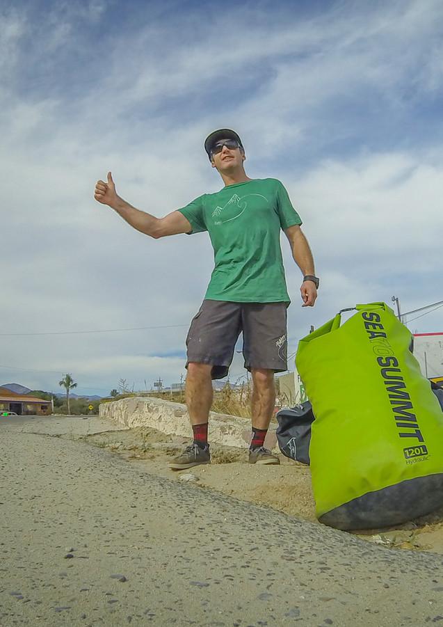 Hitchhiking through Baja