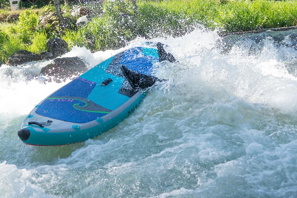 Whitewater paddle boarding crash., Photo, Paul Clark/SUPPAUL