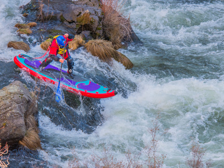 Whitewater Paddle Board Filming
