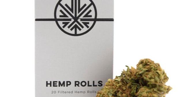 Hemp Rolls · CBD Hemp Pre-Rolls (20 Pack)
