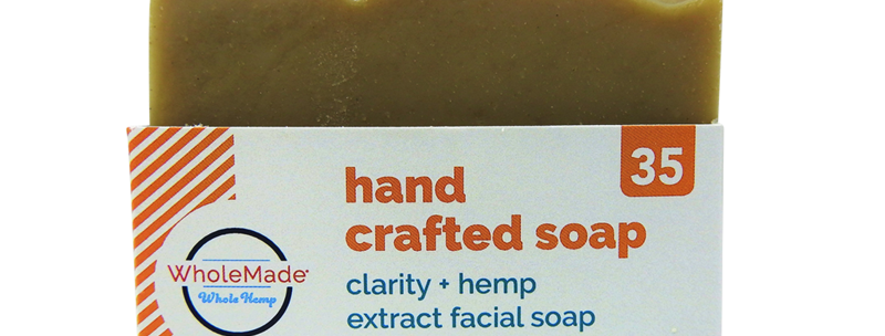 WholeMade · Clarity Facial Hemp Soap (35mg)