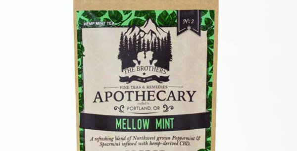 The Brothers Apothecary · Mellow Mint Tea (60mg)