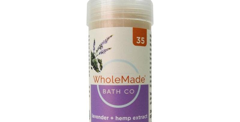 WholeMade · Lavender Hemp Deodorant (35mg)