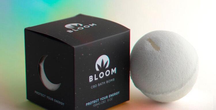 Bloom · Protect Your Energy CBD Bath Bomb (100mg)