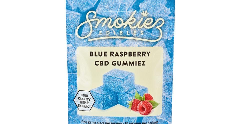 Smokiez Edibles · Blue Raspberry Gummiez (250mg)