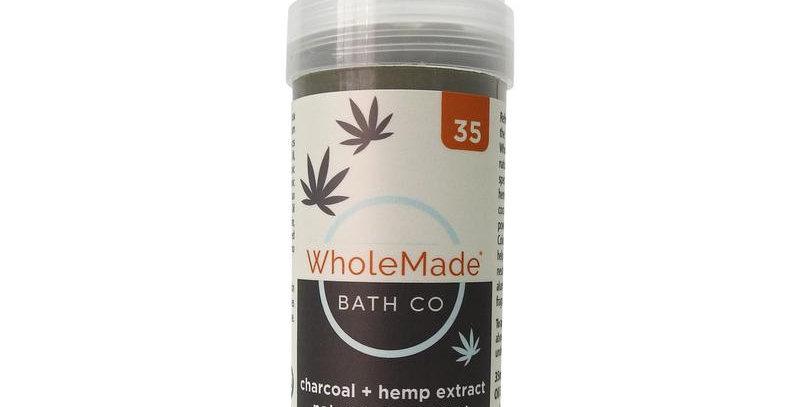 WholeMade · Charcoal Hemp Deodorant (35mg)