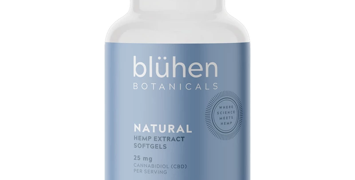 Bluhen Botanicals · Hemp Extract Softgels (750mg)