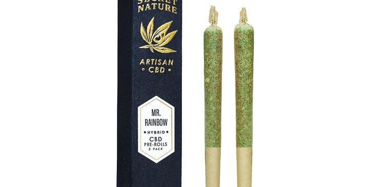Secret Nature · Mr. Rainbow CBD Hemp Pre-Rolled Joints (2 Pack)