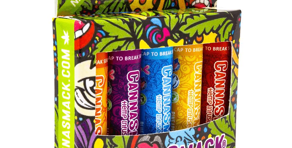 CannaSmack · Natural Hemp Lip Balm (Collection Pack)