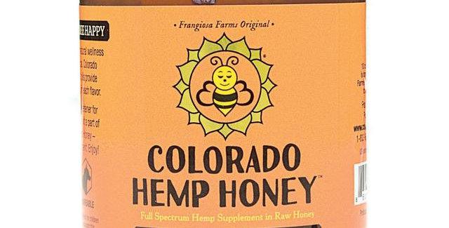 Colorado Hemp Honey · Tangerine Tranquility Honey (1000mg)