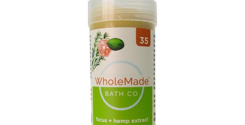 WholeMade · Focus Hemp Deodorant (35mg)