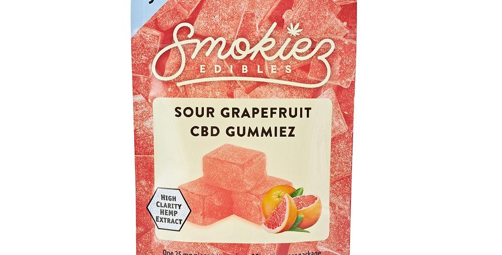 Smokiez Edibles · Sour Grapefruit Gummiez (250mg)