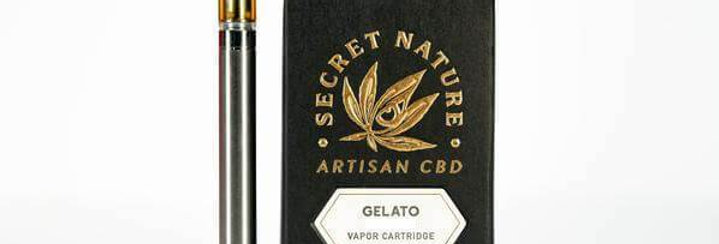 Secret Nature · Gelato Full Spectrum Organic CBD Cartridge (500mg)