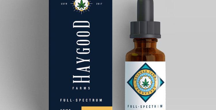 Haygood Farms · Full Spectrum Hemp Extract Oil (1000mg)