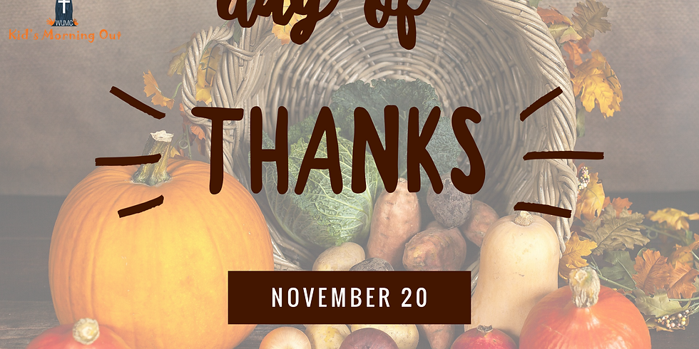 Day of Thanks party!