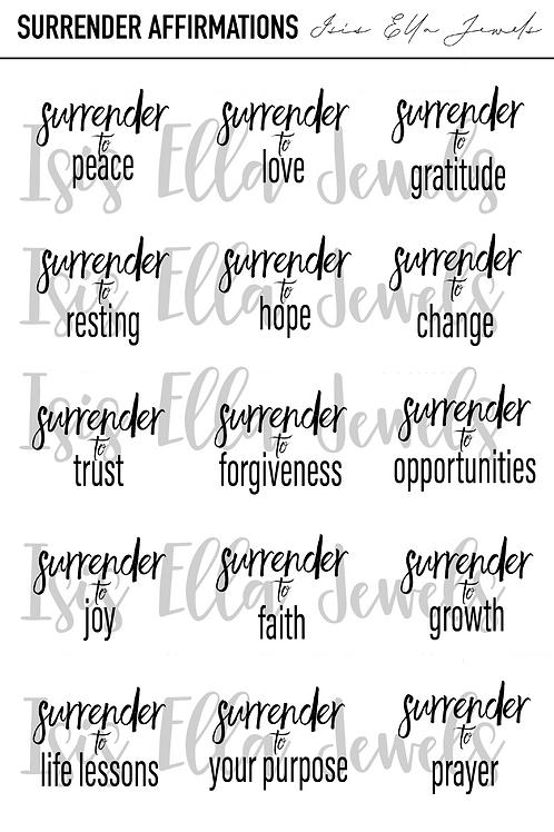 Surrender Stickers