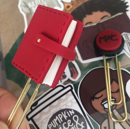 Red Planner Clip