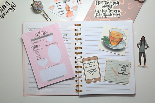 Self Love Journaling Cards