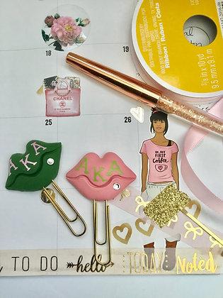 AKA  Pink Lip Clips