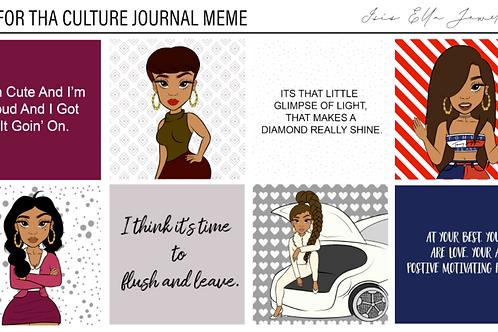 LiLi For Tha' Culture Journal Meme