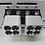 Thumbnail: Quad 8ga Speaker Wire Amplifier Outputs (1 pair) Quad 8ga Speaker Wire Amplifier