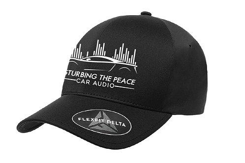 DTP Hat Black/ White logo