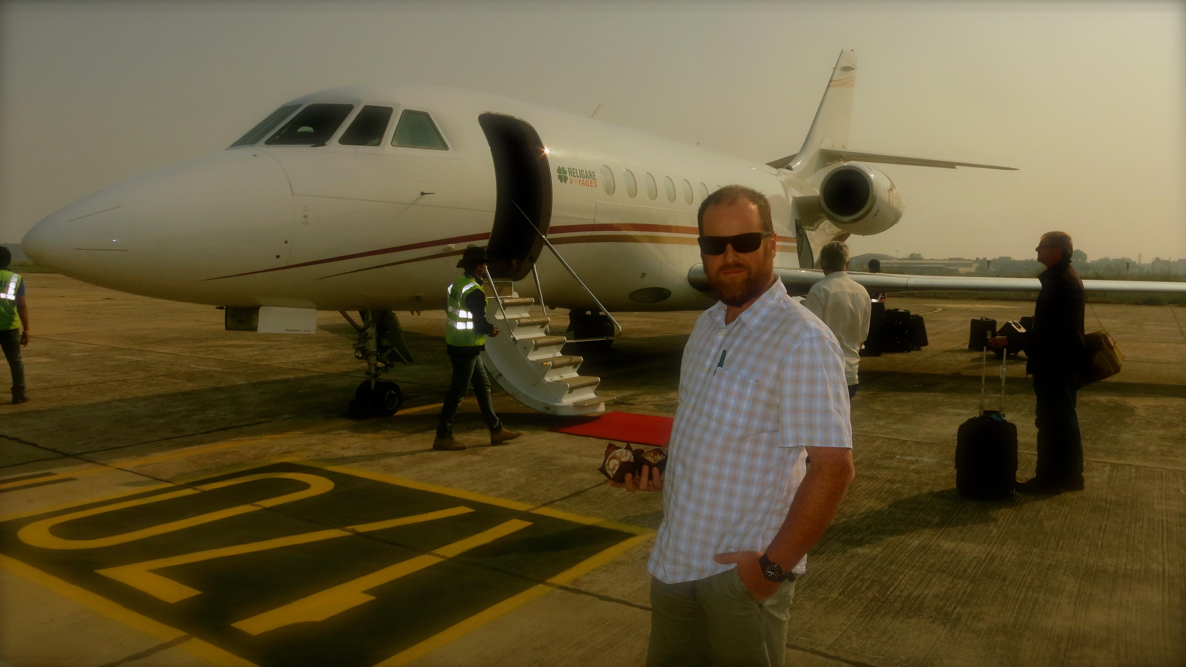 IndiaMe&Plane.JPG