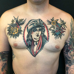 healed chest